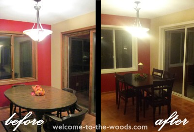 Painting Oak Trim White Before And After - Defendbigbird.com
