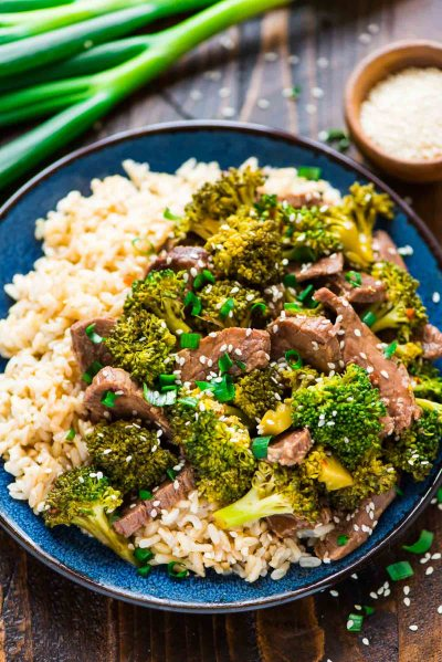 Slow Cooker Beef and Broccoli | Well Plated by Erin
