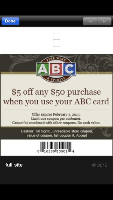 Abc liquor coupon code : I9 sports coupon