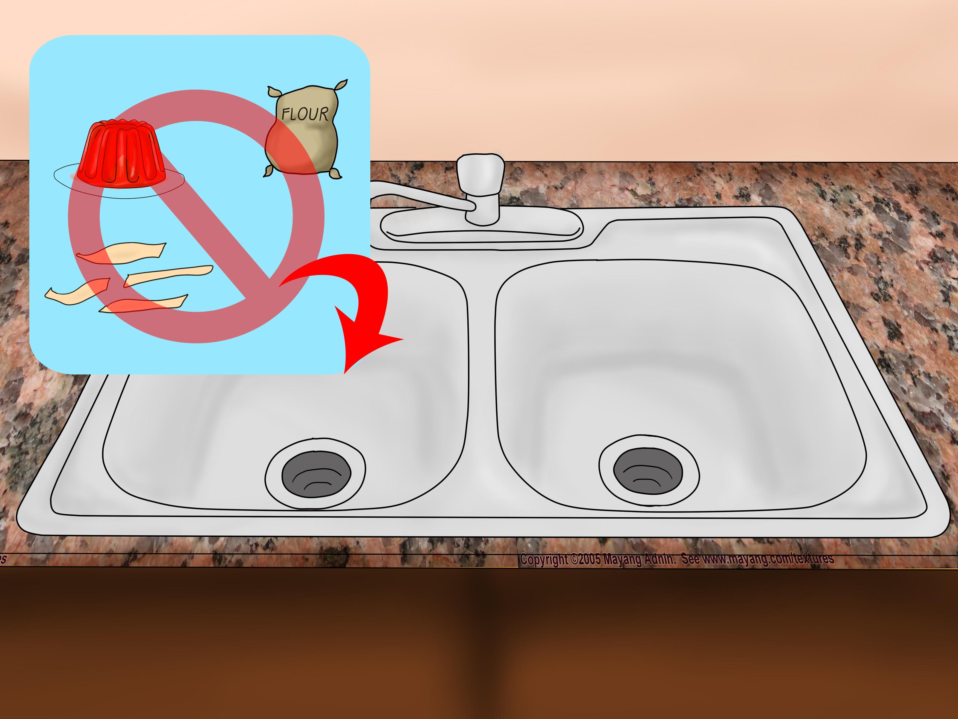Unclog a Sink Naturally unclog kitchen sink Avoid Kitchen Sink Blockages