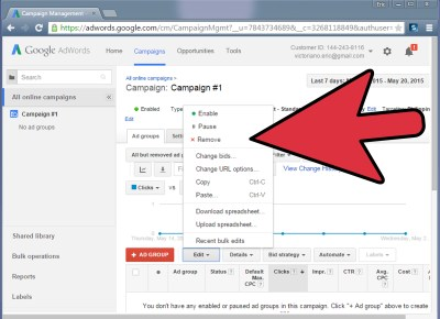 How to Start a Google Adwords Campaign: 7 Steps (with Pictures)