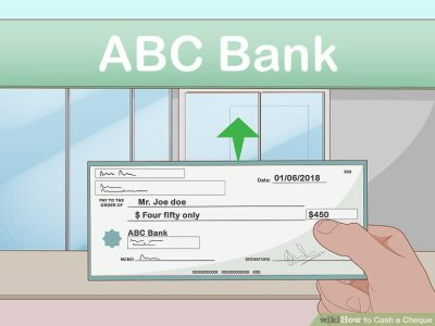 3 Ways to Cash a Cheque - wikiHow