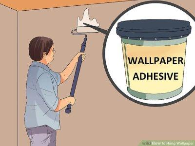 5 Ways to Hang Wallpaper - wikiHow