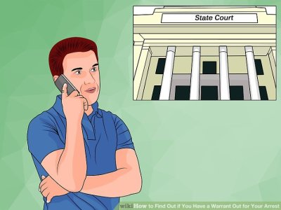 How to Find out if You Have a Warrant Out for Your Arrest