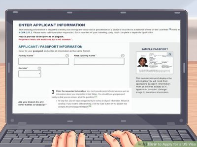How to Apply for a US Visa (with Pictures) - wikiHow