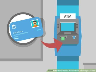 How to Withdraw Money from a Savings Account (with Pictures)