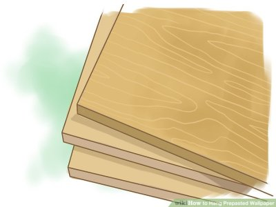 How to Hang Prepasted Wallpaper (with Pictures) - wikiHow