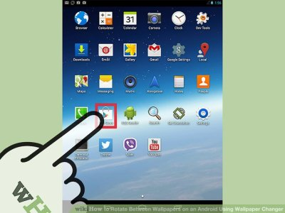How to Rotate Between Wallpapers on an Android Using Wallpaper Changer