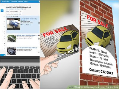 3 Ways to Advertise Your Used Car for Sale - wikiHow