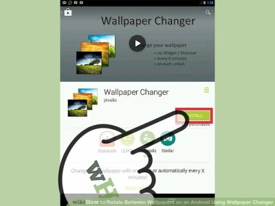 How to Rotate Between Wallpapers on an Android Using Wallpaper Changer