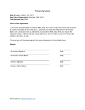 How to Write a Payment Agreement (with Sample Agreements)