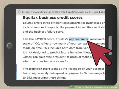 4 Ways to Check a Business Credit Report - wikiHow