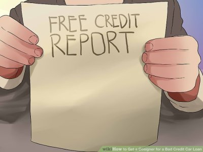 How to Get a Cosigner for a Bad Credit Car Loan (with Pictures)