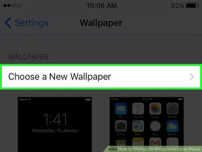 How to Change the Background on an iPhone: 9 Steps (with Pictures)