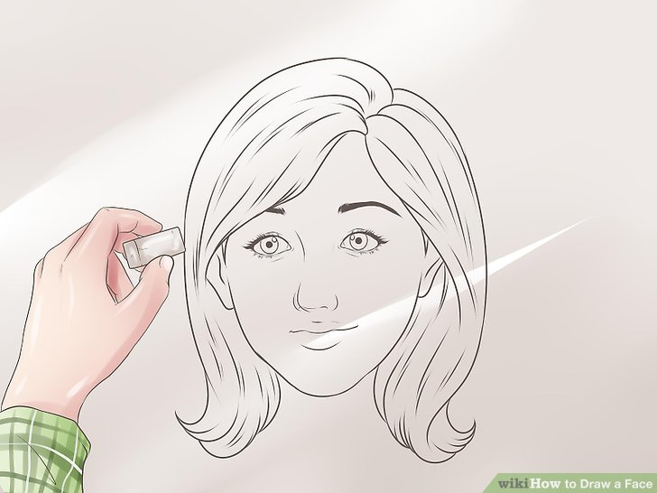 3 Ways to Draw a Face   wikiHow Image titled Draw a Face Step 31