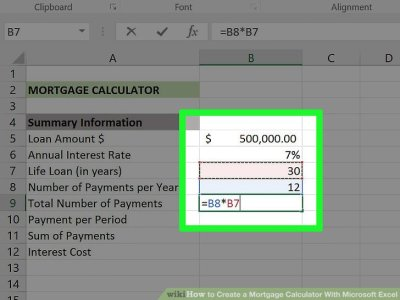 3 Ways to Create a Mortgage Calculator With Microsoft Excel