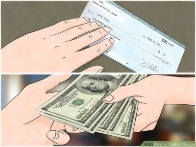 3 Ways to Cash a Cheque - wikiHow