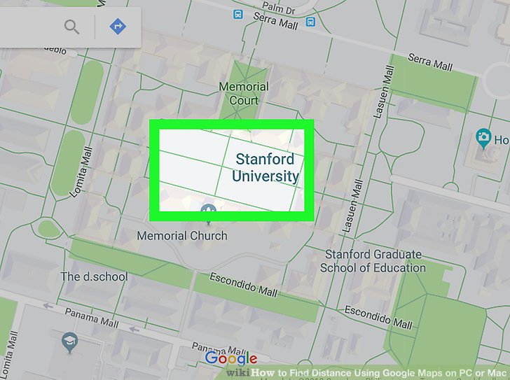 How to Find Distance Using Google Maps on PC or Mac  6 Steps Image titled Find Distance Using Google Maps on PC or Mac Step 2