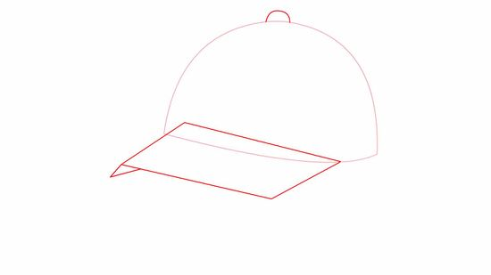How to Draw a Baseball Cap  10 Steps  with Pictures    wikiHow How to Draw a Baseball Cap