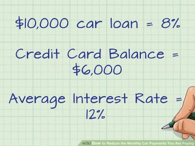 3 Ways to Reduce the Monthly Car Payments You Are Paying - wikiHow