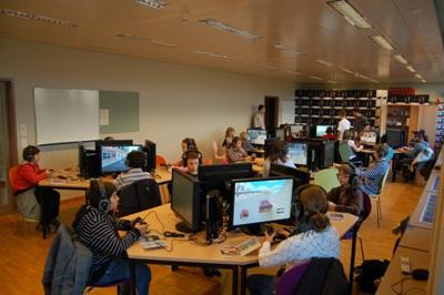 EPFL PlayStation 3 cluster