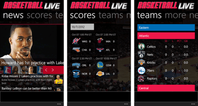 Basketball Live bounces into the Windows Phone Store | Windows Central