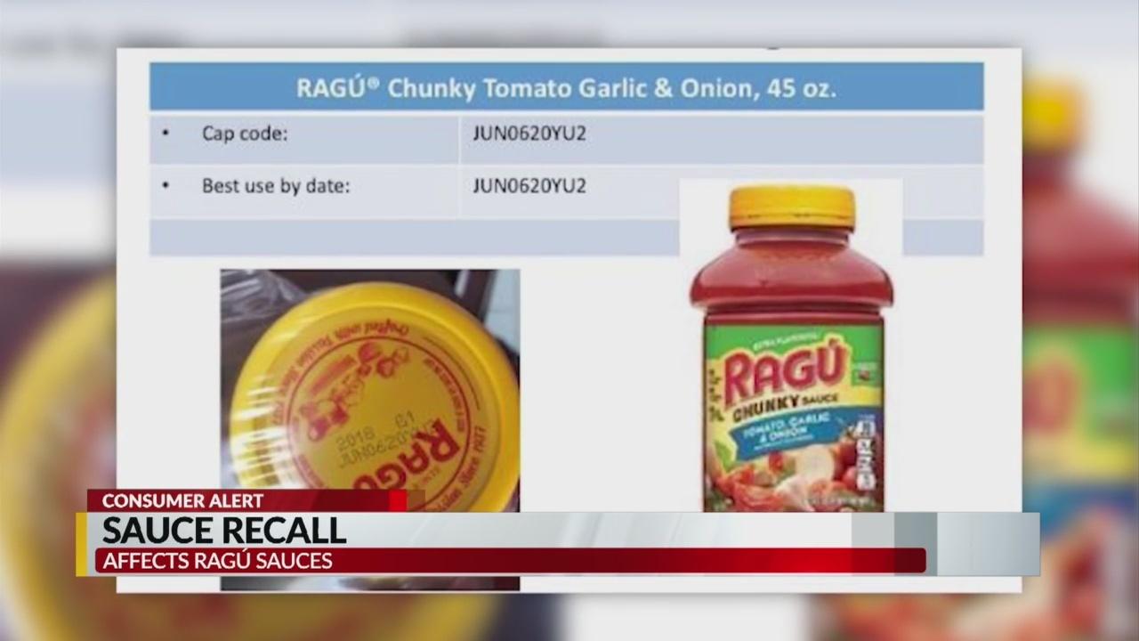 Ragu Recalls some Pasta Sauces