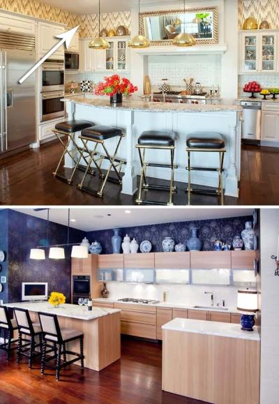 20 Stylish and Budget-friendly Ways to Decorate Above Kitchen Cabinets