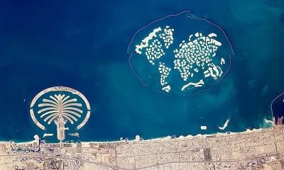 Man-Made Islands In Dubai - WorldAtlas.com