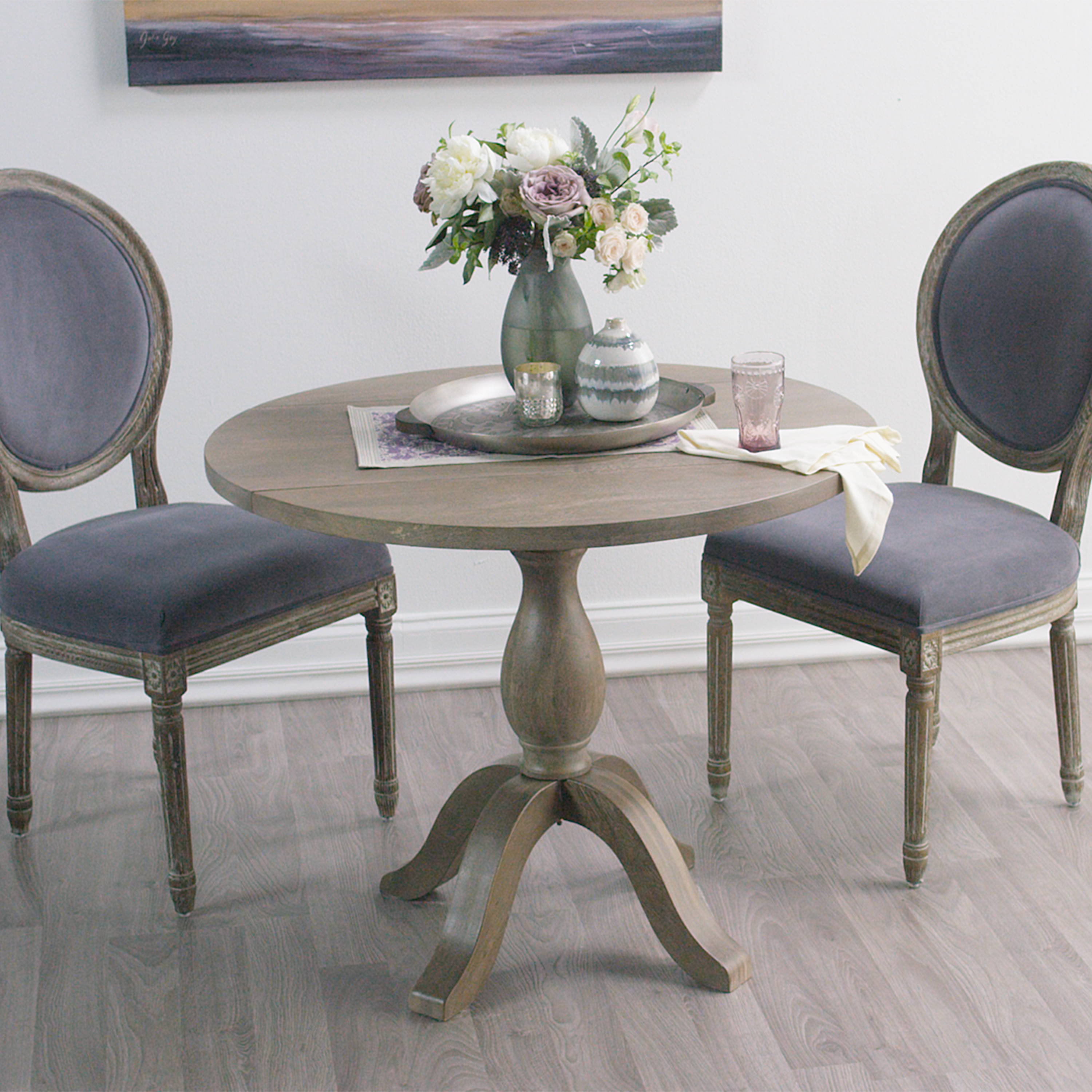 weathered gray jozy drop leaf dining table kitchen table with leaf