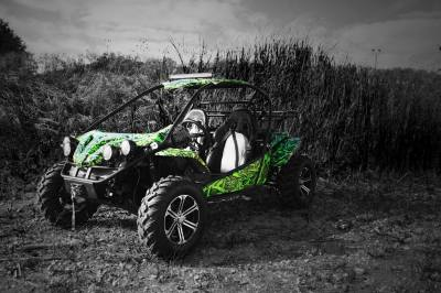 XY Powersports Ground Pounder UTV Wrap - Vivid Wraps