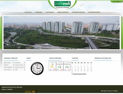 Parkvadi Evleri Site Yönetimi