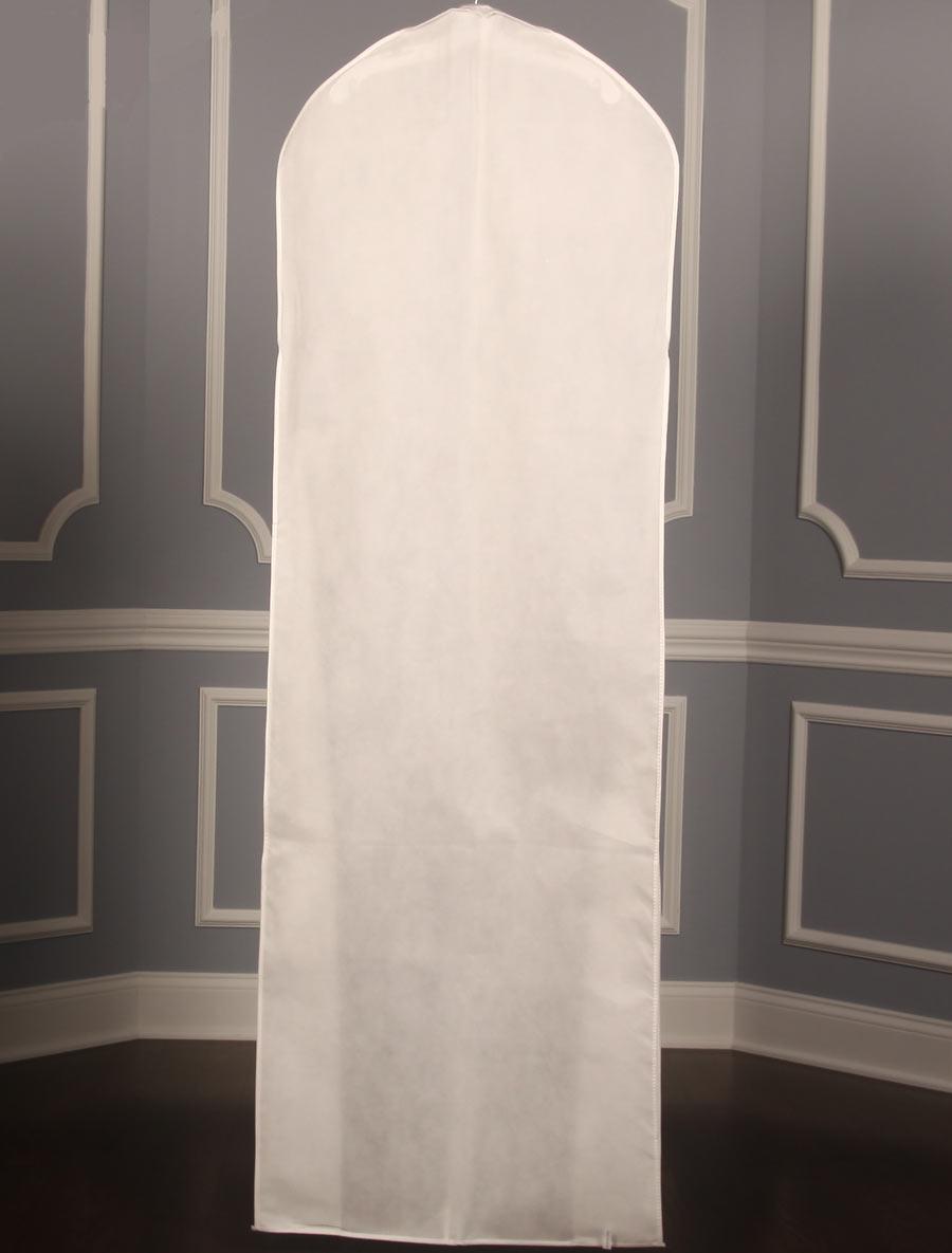 other bridal accessories wedding dress garment bag Bridal Gown Dress Breathable White Garment Bag