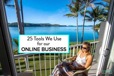 25 Tools We Use For Our Online Business