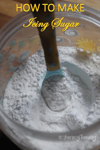 How to Make Icing Sugar at Home - Powdered Sugar Recipe - Homemade Confectioners Sugar Recipe ...
