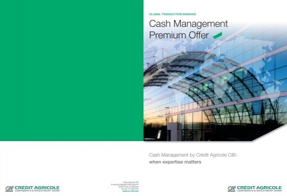 Cash Management Premium Offer   Cr    dit Agricole CIB