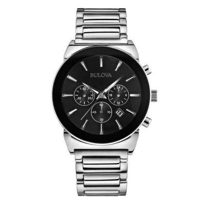 Men's Bulova Chronograph Watch (Model: 96B203)   Bulova   Watches   Zales