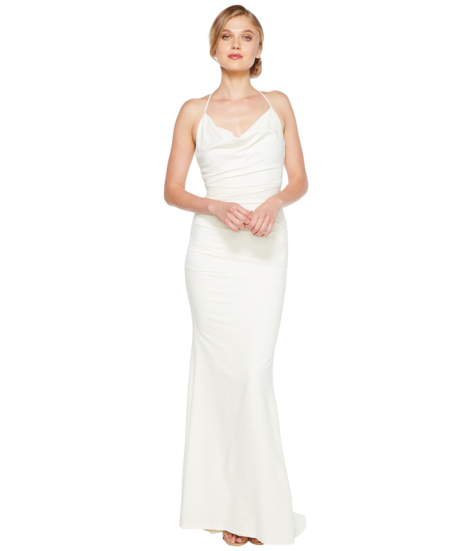 nicole miller sleeveless wedding gown free wedding dresses Nicole Miller Tara Bridal Gown
