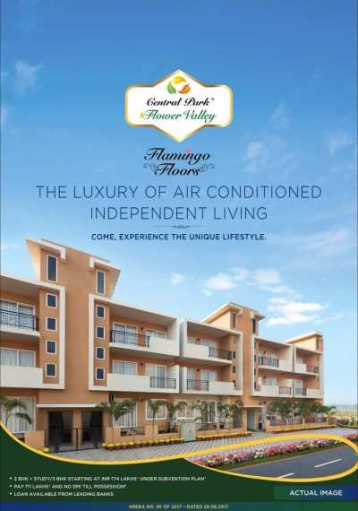Come experience the unique lifestyle at Central Park 3 ...
