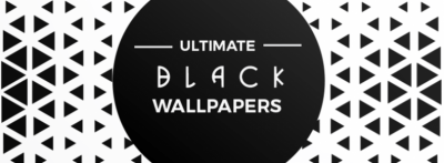 Collection of Black AMOLED Wallpapers on XDA Labs