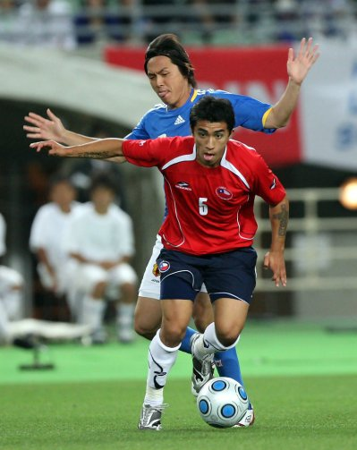 Edson Puch in Japan v Chile - International Friendly - Zimbio