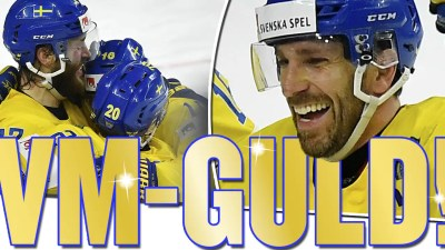 Sverige tar guld i hockey-VM 2017 – Henrik Lundqvist hjälte