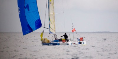 Chasing boats gain miles as Solitaire leaders left frustrated on lightwind Biscay - MySailing.com.au