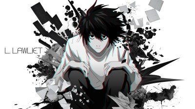 L Death Note Wallpapers High Quality | Download Free