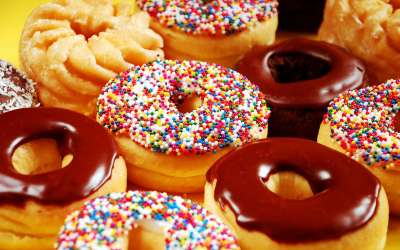 Donuts Wallpapers High Quality | Download Free