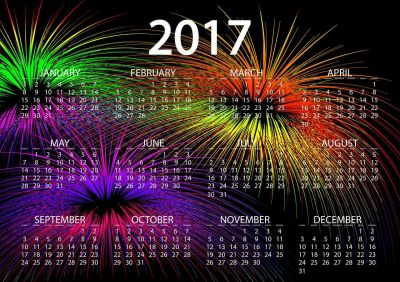 Calendar 2017 Wallpapers High Quality | Download Free