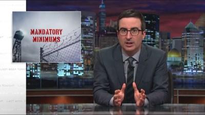 Last Week Tonight with John Oliver: Mandatory Minimums (HBO) - YouMustSeeThisVideo.com