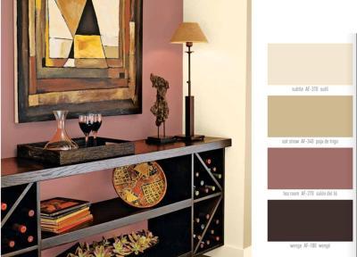choosing interior paint colors 2017 - Grasscloth Wallpaper