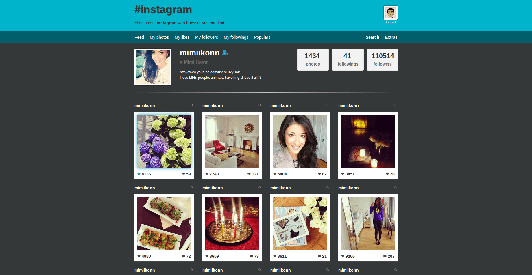 Instagram Web Viewer by azimgd | CodeCanyon