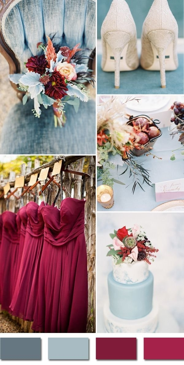 Autumn Bridesmaid Colours